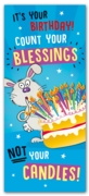 GREETING CARDS,Birthday 6's Count Your Blessings