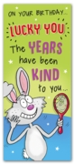 GREETING CARDS,Birthday 6's Years Have Been Kind