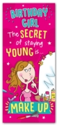 GREETING CARDS,Birthday 6's Secret of Staying Young