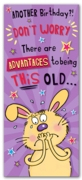 GREETING CARDS,Birthday 6's Advantages to Being This Old