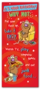 GREETING CARDS,Birthday 6's Take It Easy