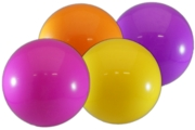 "BALL,Fluorescent 12"" 4 Assorted Colours"