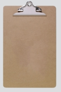 CLIPBOARD,A4+ Masonite Hardboard, Heavy Duty