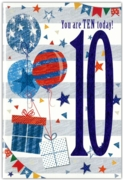 GREETING CARDS,Age 10 Male 12's Pastimes/Balloons