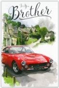 GREETING CARDS,Brother 6's Classic Sports Car