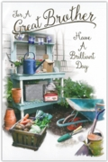 GREETING CARDS,Brother 6's Gardening