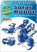 SOLAR ROBOT,Science Matters, 3 in 1 Boxed