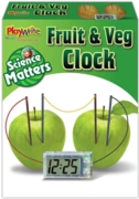 FRUIT & VEG CLOCK,Science Matters,Boxed