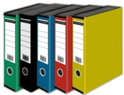 BOX FILE,Foolscap,Black,Blue ,Red,Yellow & Green.Eastlight.