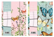DIARY,A5 Family Organiser Butterfly,Floral Des. 2021
