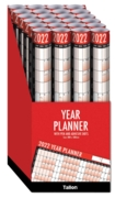 YEAR WALL PLANNER 2021 Inc. Pen & Sticky Notes,CDU