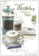 GREETING CARDS,Birthday 6's Coffee Break