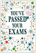 GREETING CARDS,Exam Pass 6's Stars & Shapes