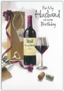 GREETING CARDS,Husband 12's Wine