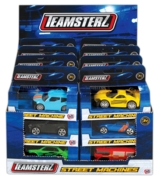 TEAMSTERZ,Street Machines 1:64 24 Assorted Boxed CDU