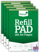 REFILL PAD,A4 N.Ft. Silvine 160 page(Carton Price,4x6pc)