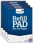 REFILL PAD,A4 Squares 5mm 160 page(Carton Price,4x6pc)