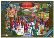 JIGSAW,1000pc.Christmas Ltd. Edition, Secret Santa (Gibson)