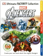 ACTIVITY BOOK,Marvel Avengers with 500+ Stickers (£7.99)