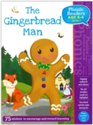 ACTIVITY BOOK,Phonic Readers, Gingerbread Man (4-6 Years)