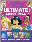 ACTIVITY PACK,Disney Princess, 5 Books+100 Stickers