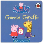 BOARD BOOK,Peppa & Friends, Gerald Giraffe (Was 3.99)