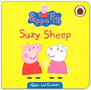BOARD BOOK,Peppa & Friends, Suzy Sheep (Was 3.99)