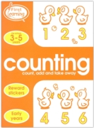 ACTIVITY BOOK,First Learning, Counting (3-5 Years)