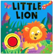 BOARD BOOK with SOUND, Little Lion (£5.99)