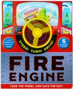 BOARD BOOK,Fire Engine,Steer! Turn! Drive! (Was 14.99)
