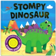 BOARD BOOK with SOUND, Stompy Dinosaur (£5.99)