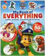 ACTIVITY BOOK,Paw Patrol, My Book of Everything (£9.99)