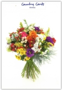 GREETING CARDS,Birthday 6's Bunch of Flowers