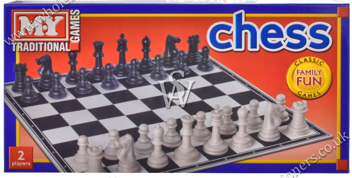 CHESS GAME, 35cm Board, Bxd
