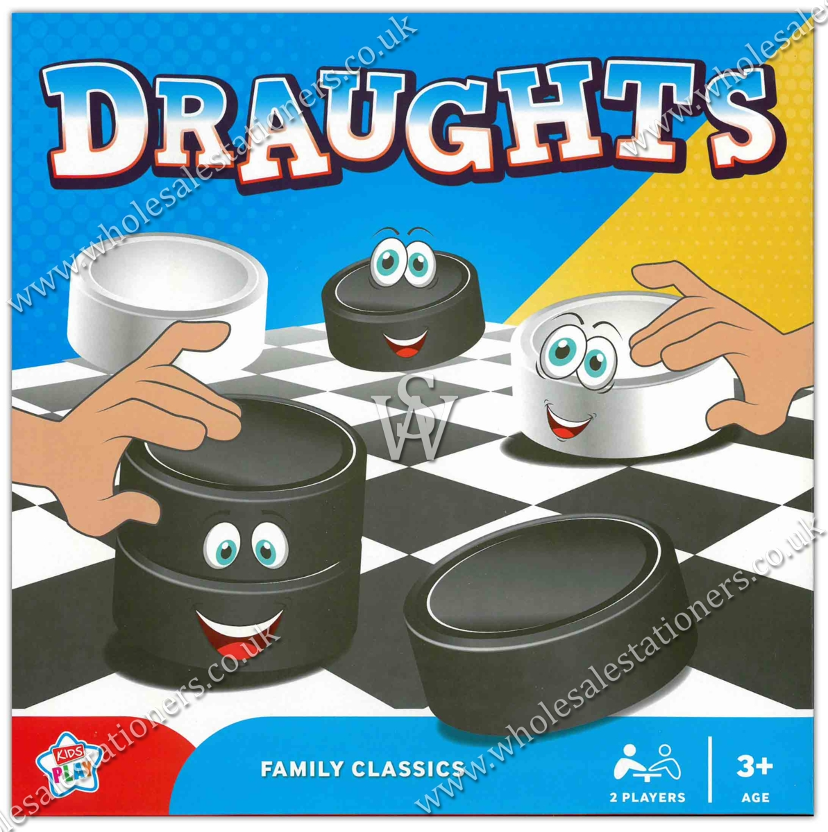 DRAUGHTS, FAMILY CLASSICS GAME. Bxd