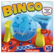BINGO GAME,Ball Dispenser & 90 Numbered balls  24 Bingo Cards