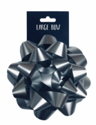 BOW,Luxury Silver Glitter 15cm I/cd