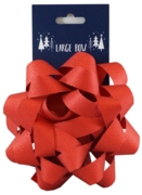 BOW,Luxury Red Glitter 15cm I/cd