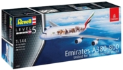 """REVELL Model """"Wild Livery"""" Airbus A380-800 Emirates 1:144"""