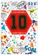 GREETING CARDS,Age 10 Male 12's Sport/Doodles