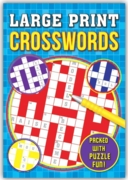 ACTIVITY BOOK,Crossword, Large Print
