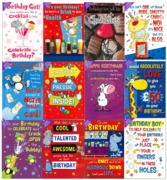 GREETING CARDS,Humour Assorted 72's