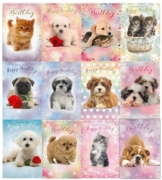 GREETING CARDS,Birthday Assorted 72's (Wags/Whiskers)