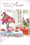 GREETING CARDS,Aunt 6's Floral