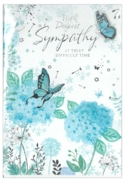 ISABEL'S GARDEN,Sympathy.6's Floral Butterflies