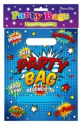 PARTY BAGS,Comic Text 10's