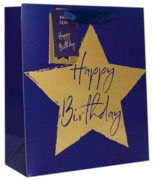 GIFT BAG,Blue Star (Extra Large)