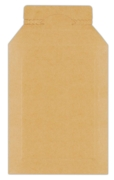CARDBOARD ENVELOPES,170x245+80 mm,Self Seal Easy Opening
