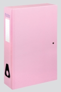 BOX FILE,Pukka Foolscap Pastel Assorted Colours