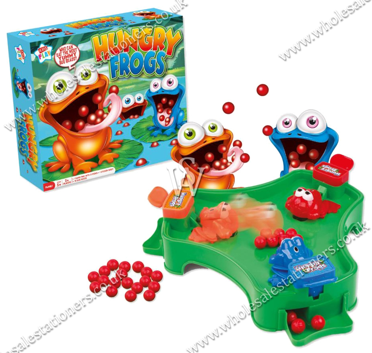 HUNGRY FROGS GAME, 2 Player, Age 5+